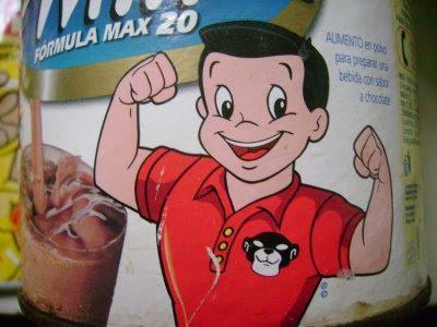 La historia del Choco-Milk y  Pancho Pantera