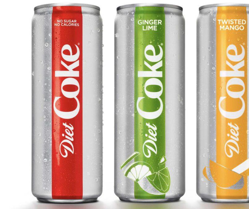 Diet Coke se reinventa… Otro signo de cambio