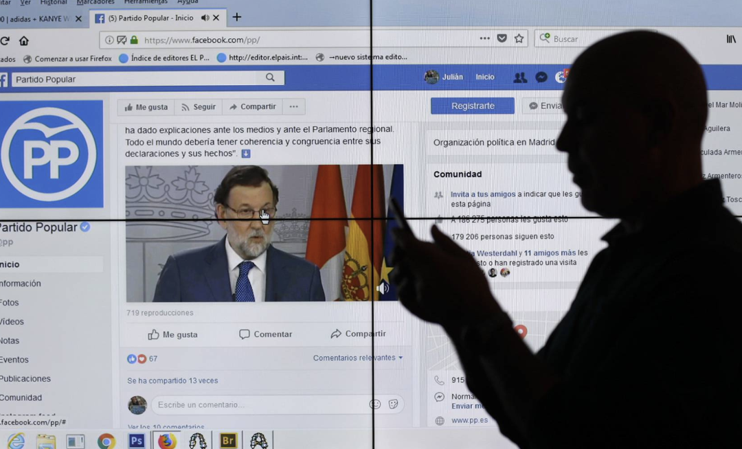Cómo los partidos españoles explotan Facebook para captar tu voto