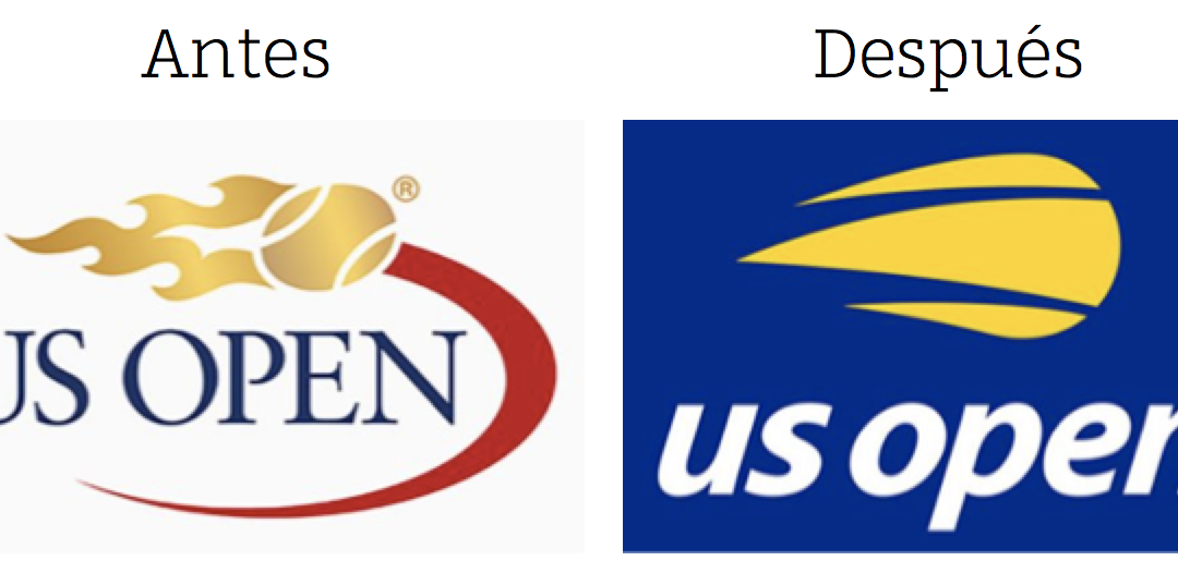 Revitalizando marcas: Logo US Open